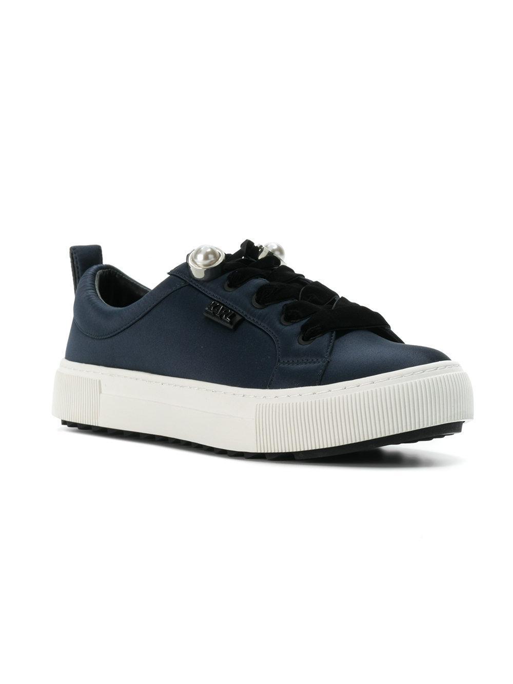 pearl detail sneakers - Blue Karl Lagerfeld rpRpAi9