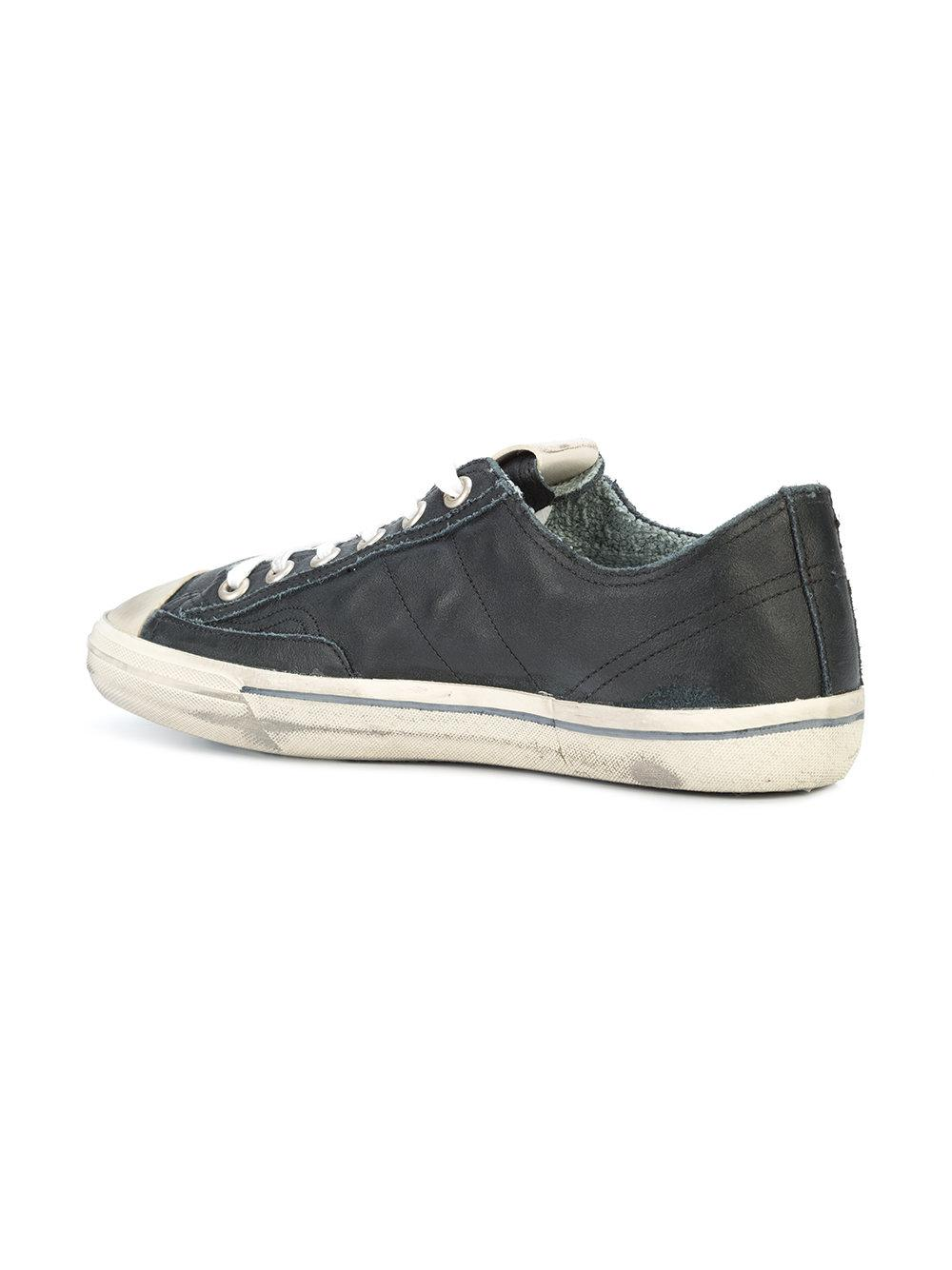 ffd0aa3096ab0 Golden Goose Deluxe Brand - Black V-star 2 Sneakers for Men - Lyst. View  fullscreen