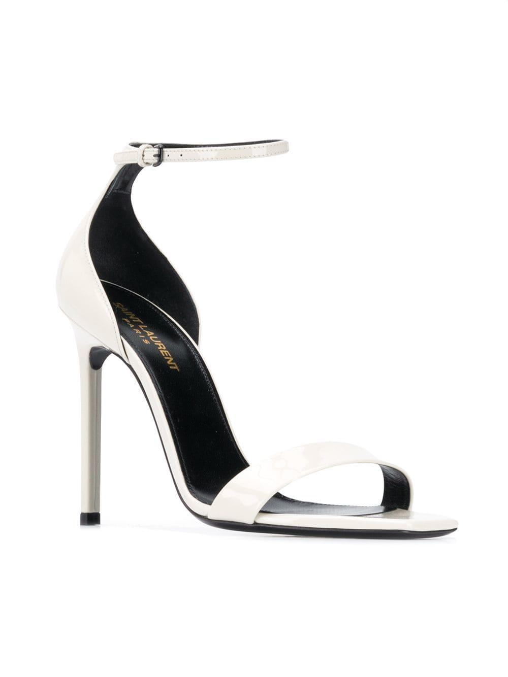 7627fa5acfbe Lyst - Saint Laurent Jane 105 Sandals