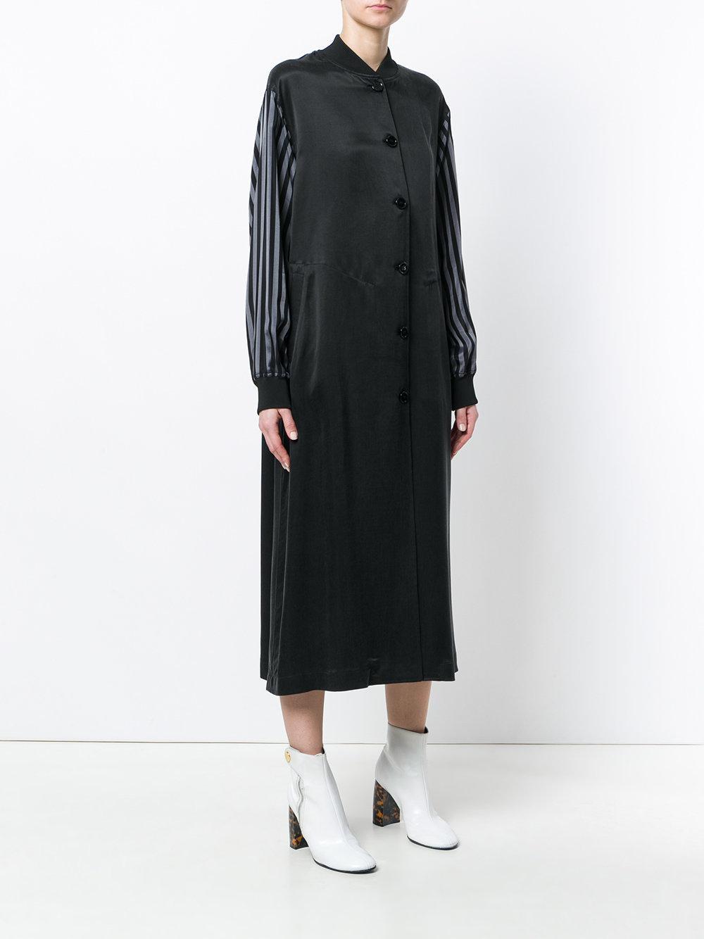 bell sleeve bomber dress - Black Maison Martin Margiela NCjha63JU