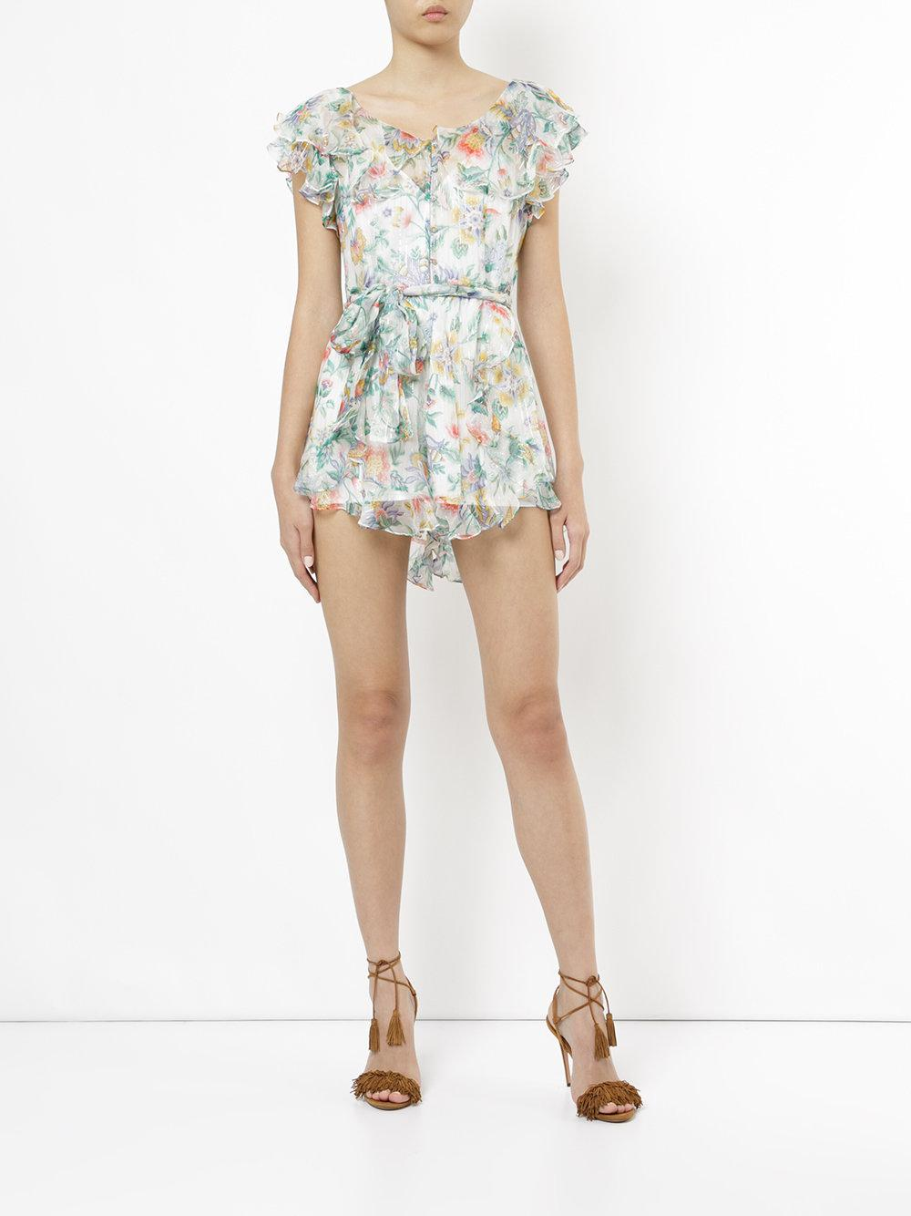 1f8d22e896 Lyst - Alice McCALL Tiny Dancer Playsuit in White