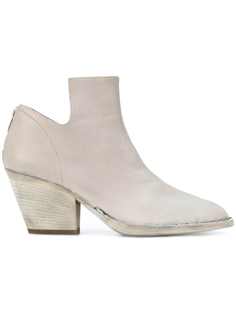 Isabeau boots - Grey Officine Creative 4Wf8x