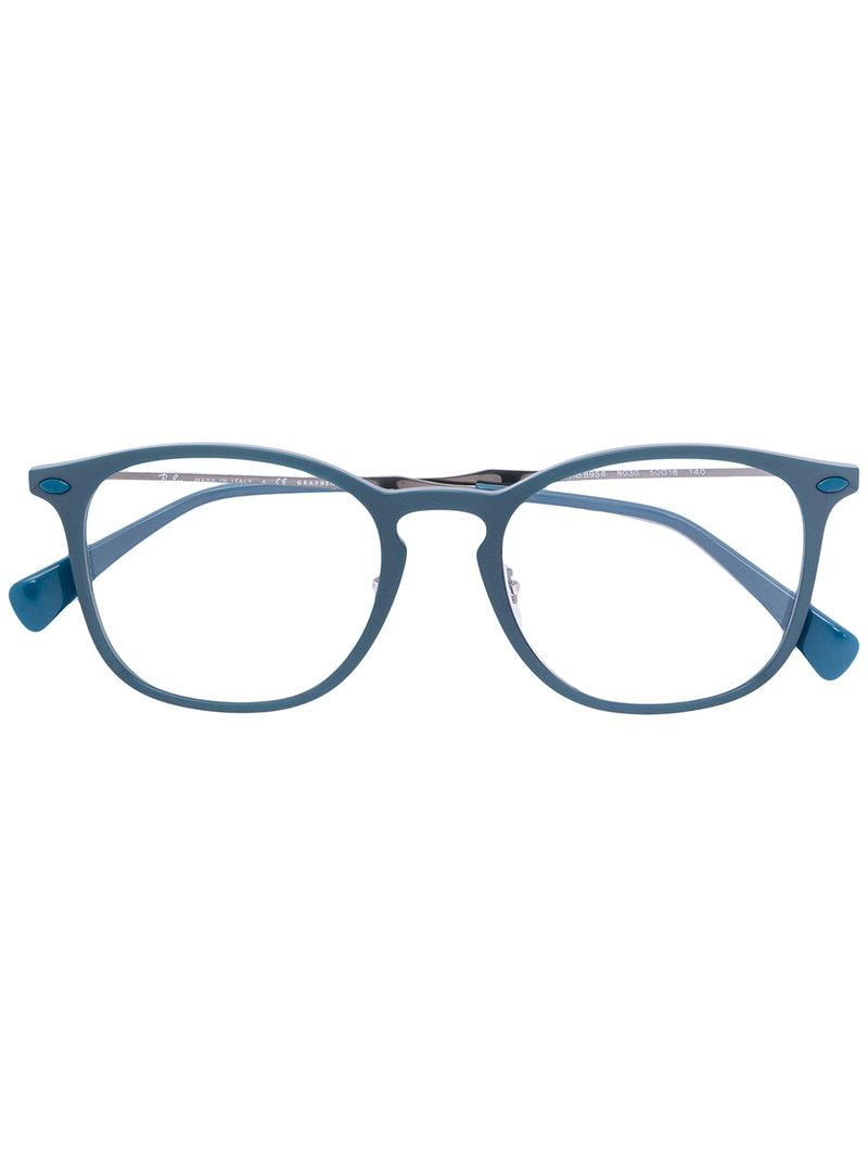 4806c7ff60 Ray-Ban Graphene Glasses in Blue - Lyst