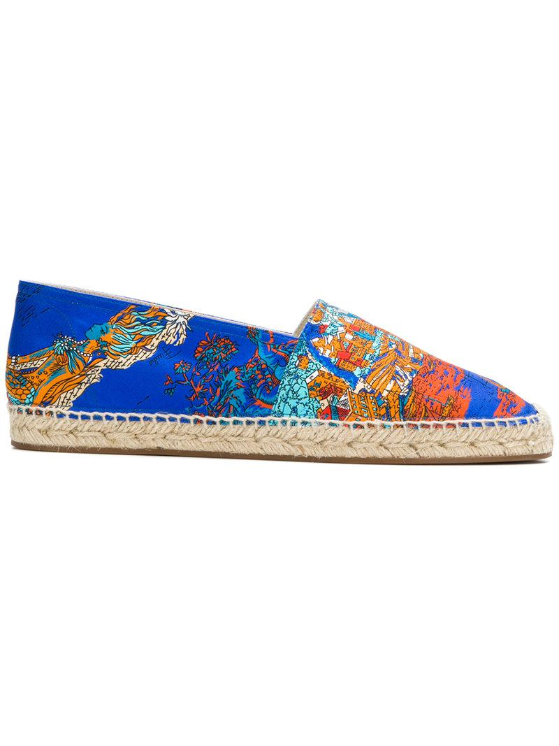 fashionable sale online Emilio Pucci Portofino print espadrilles cheap sale many kinds of fake online oIacYe