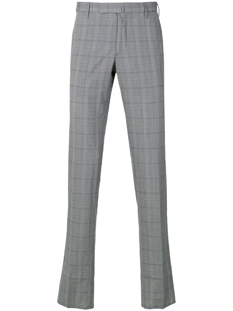 Pantalon Droit - Incotex Rouge 7F8KkDrLt