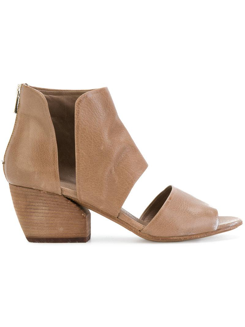 Officine Creative Blanc sandals - Brown farfetch rosa Nicekicks Venta Barata 3cGnLH7