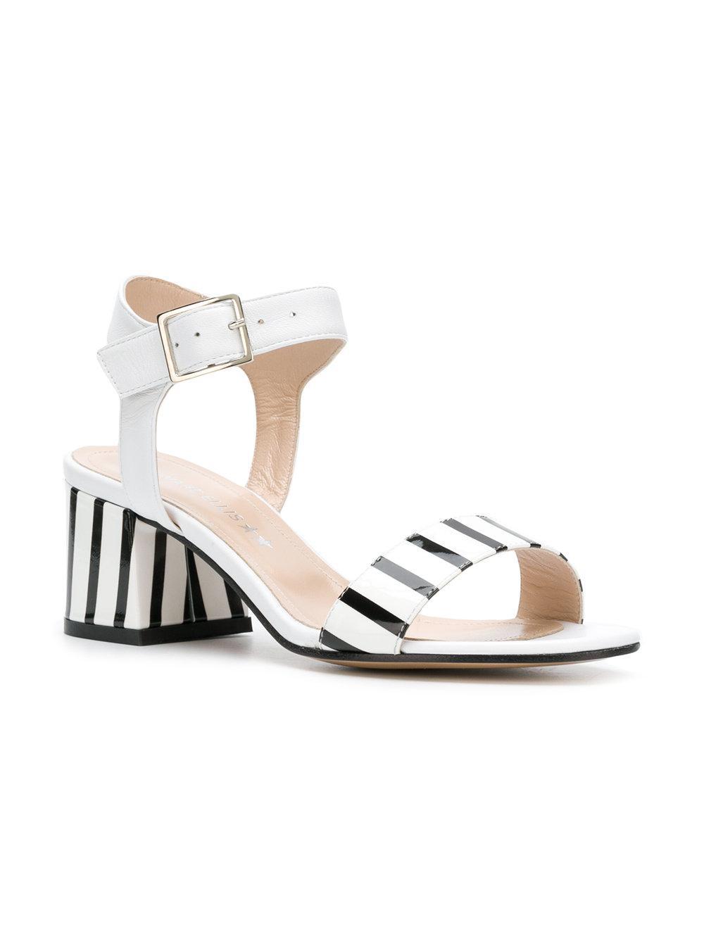 striped details sandals - White Marc Ellis Cen7tcLS