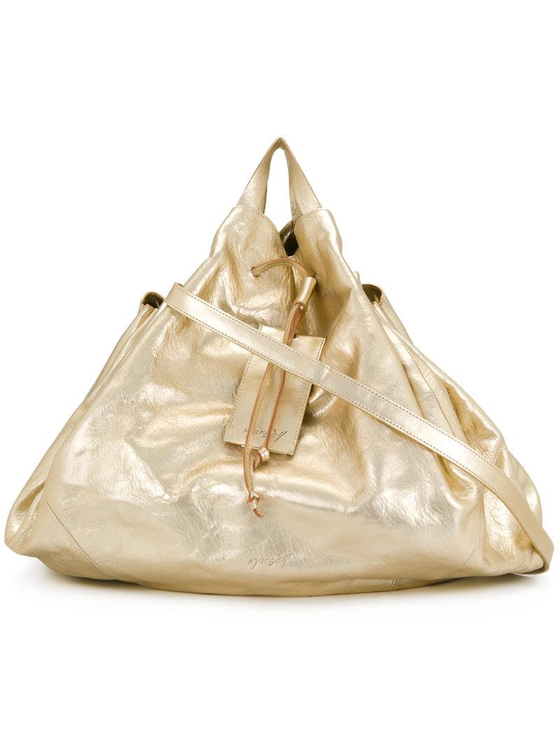 slouchy drawstring tote - Metallic Marsèll Outlet Store For Sale Buy Cheap Official Fast Delivery CdHWYG