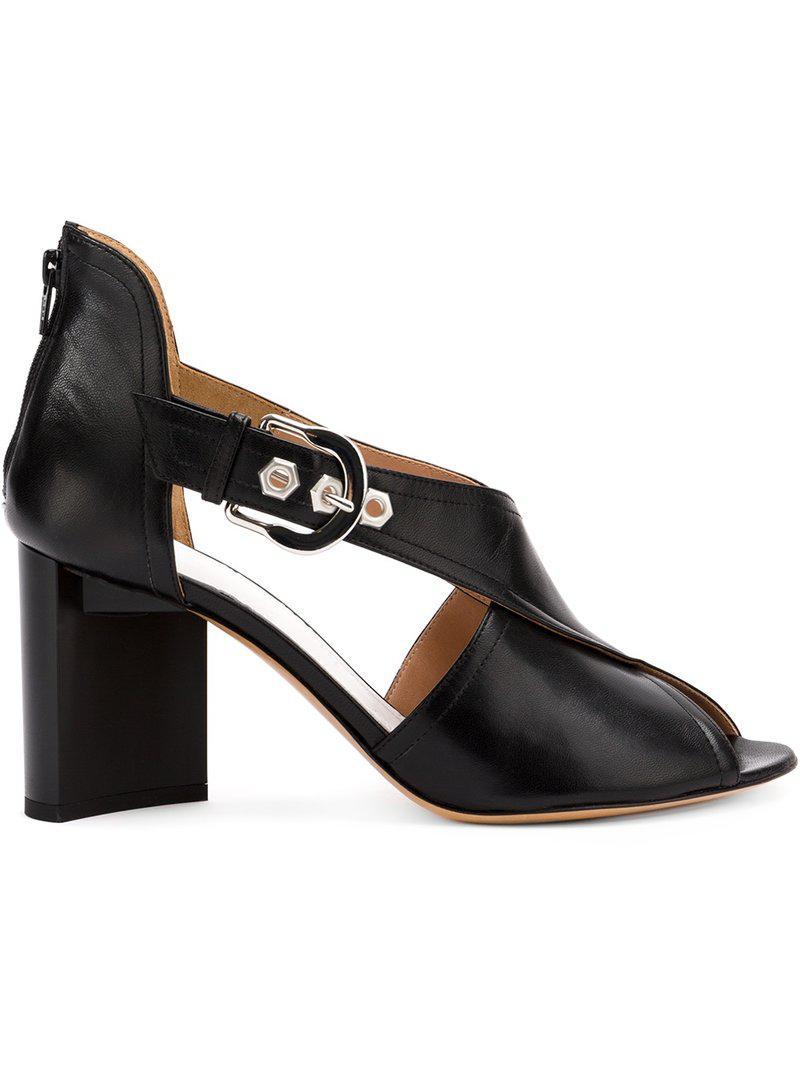 crossover strap sandals - Black Maison Martin Margiela jQ8mN3PkZ