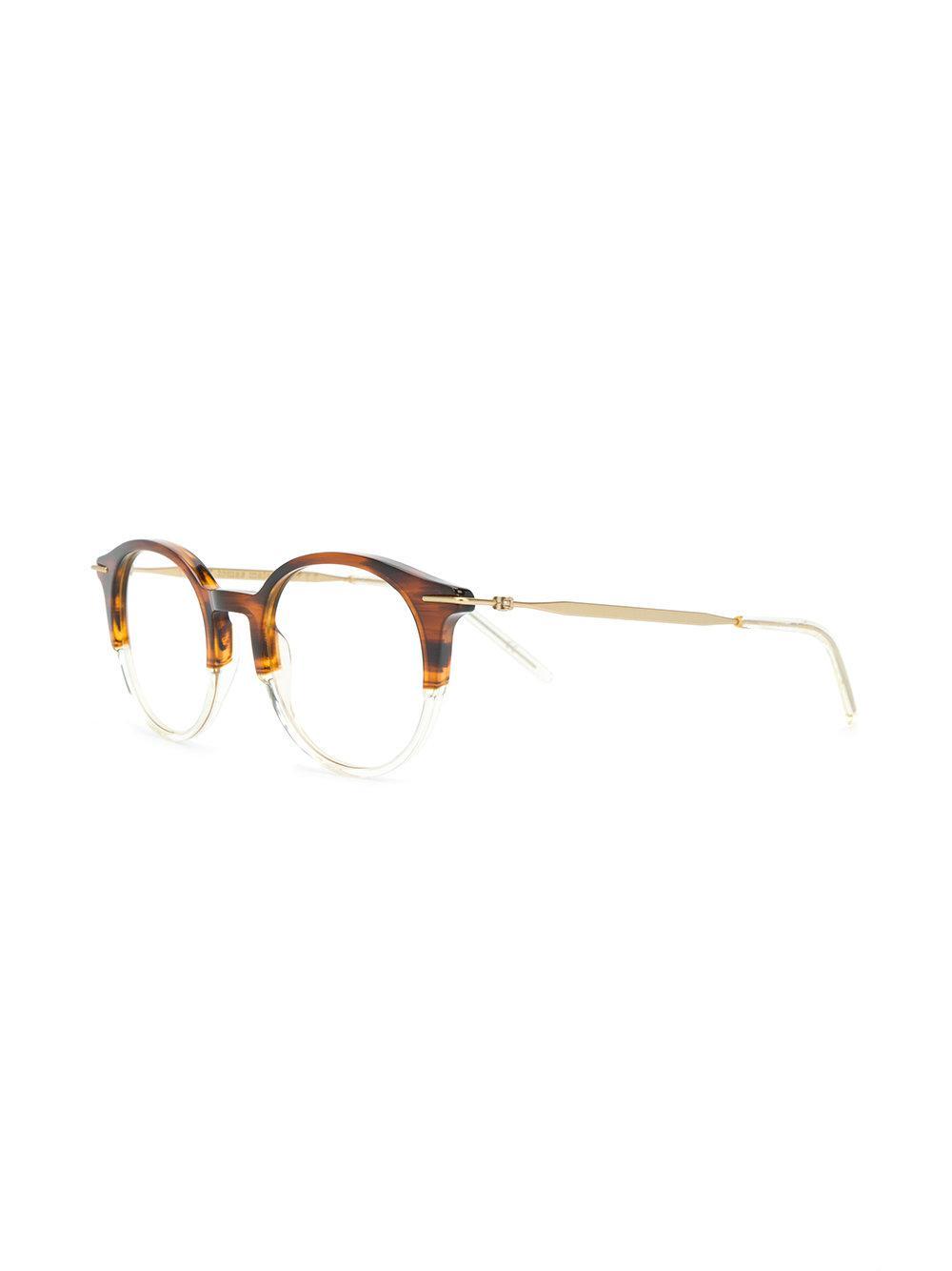 f7e2ada49a0 Tomas Maier - Brown Square Glasses - Lyst. View fullscreen