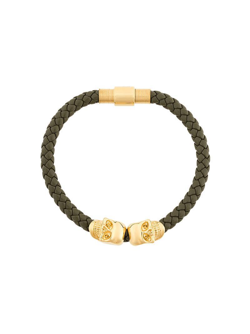 Northskull Insignia bracelet - Green XTBvL