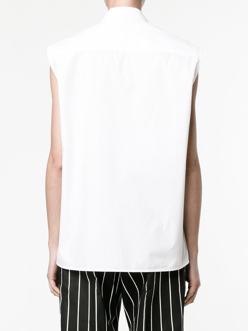 gingham pocket shirt - White Christopher Kane Manchester Great Sale Cheap Online 5Ac70d