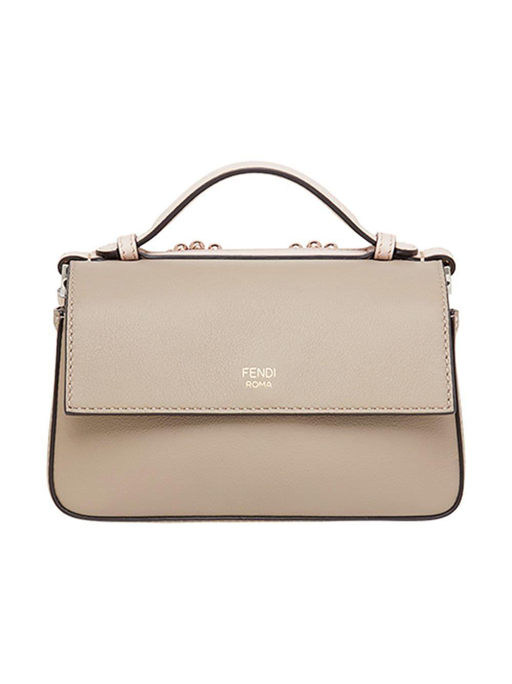 86b263092088 Fendi Double Micro Baguette Bag - Lyst