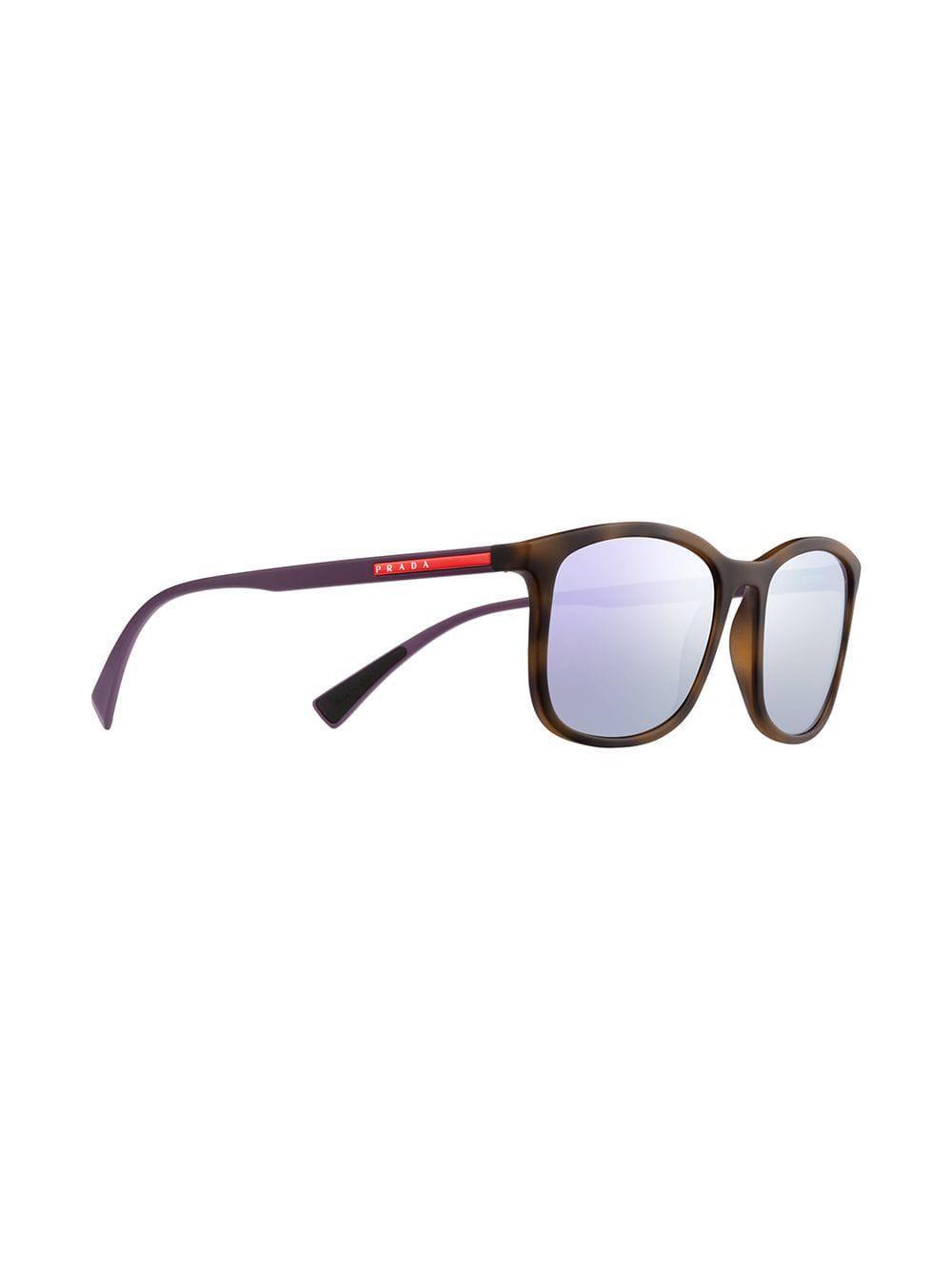 a786ce462a168 Lyst - Prada Linea Rossa Sunglasses in Blue for Men
