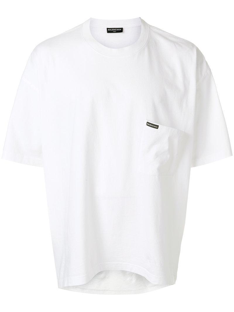 f76b6264f2a6 Balenciaga Mens White T Shirt