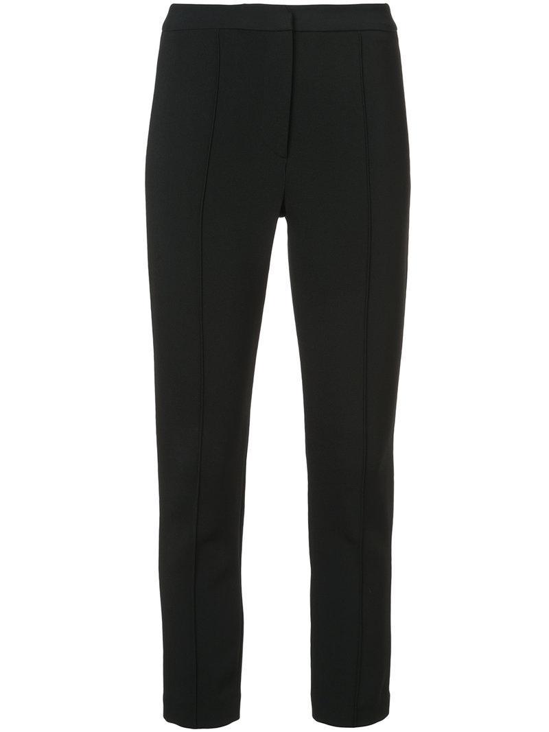 piped trousers - Black Adam Lippes 8iMfSp5Oc