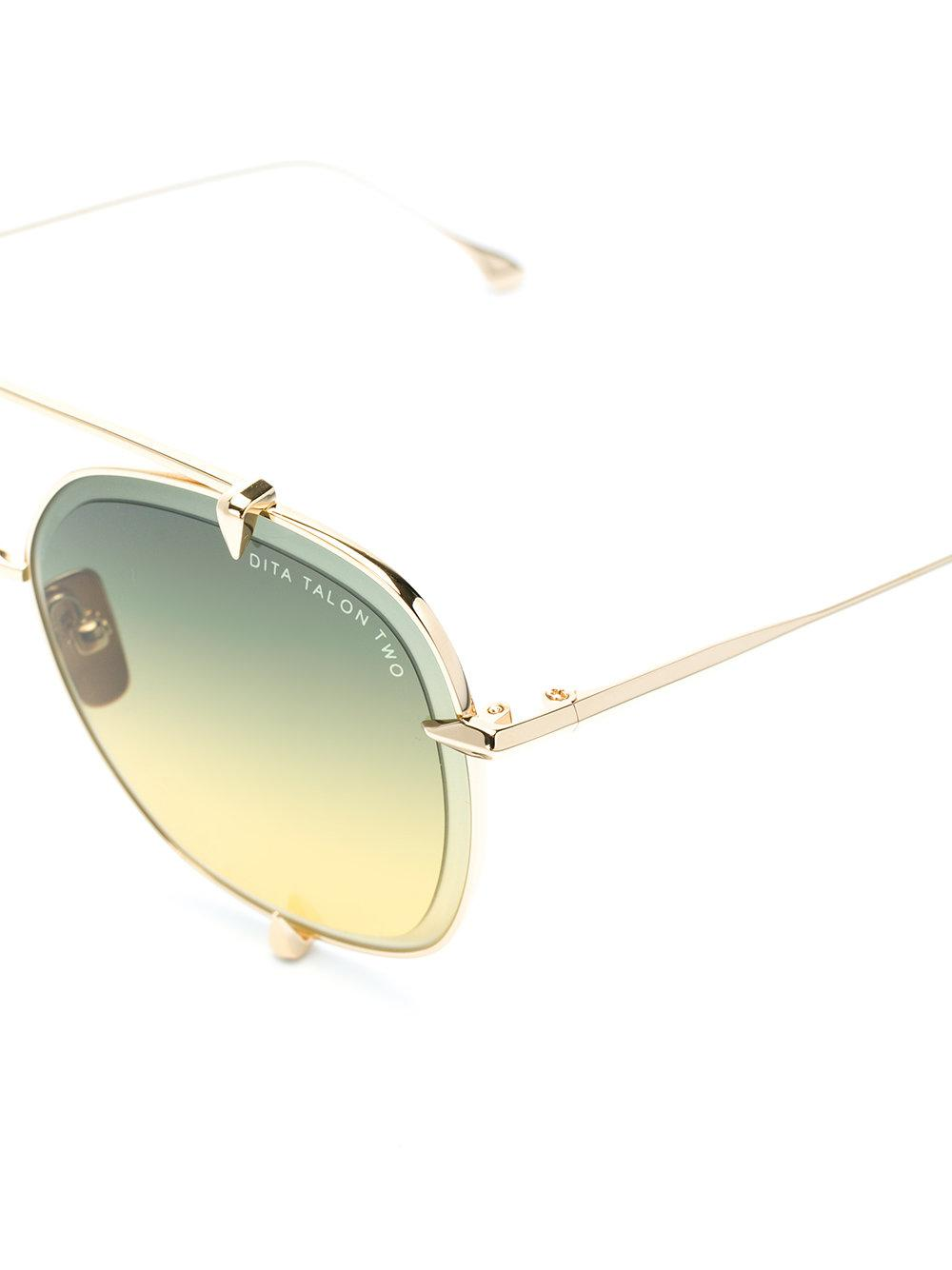 5aaf69fd7f Lyst - Dita Eyewear Talon Sunglasses in Metallic