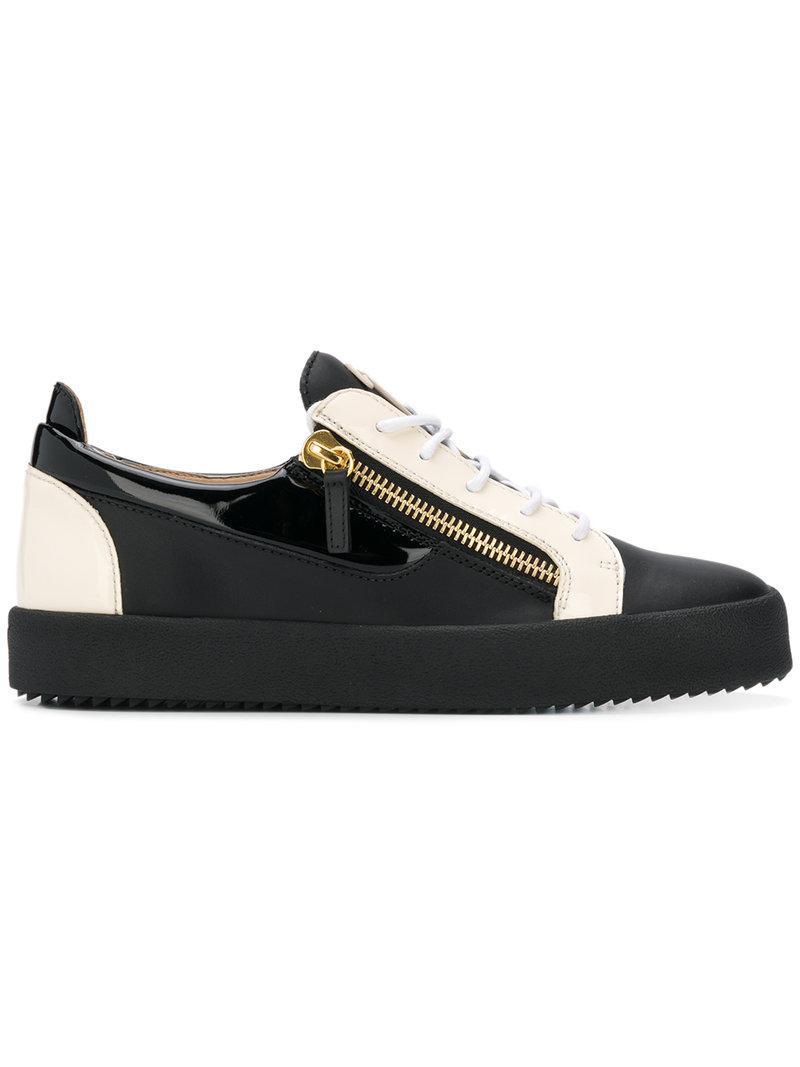 b2cfd08b7171f Giuseppe Zanotti Frankie Low-top Sneakers in Black for Men - Lyst