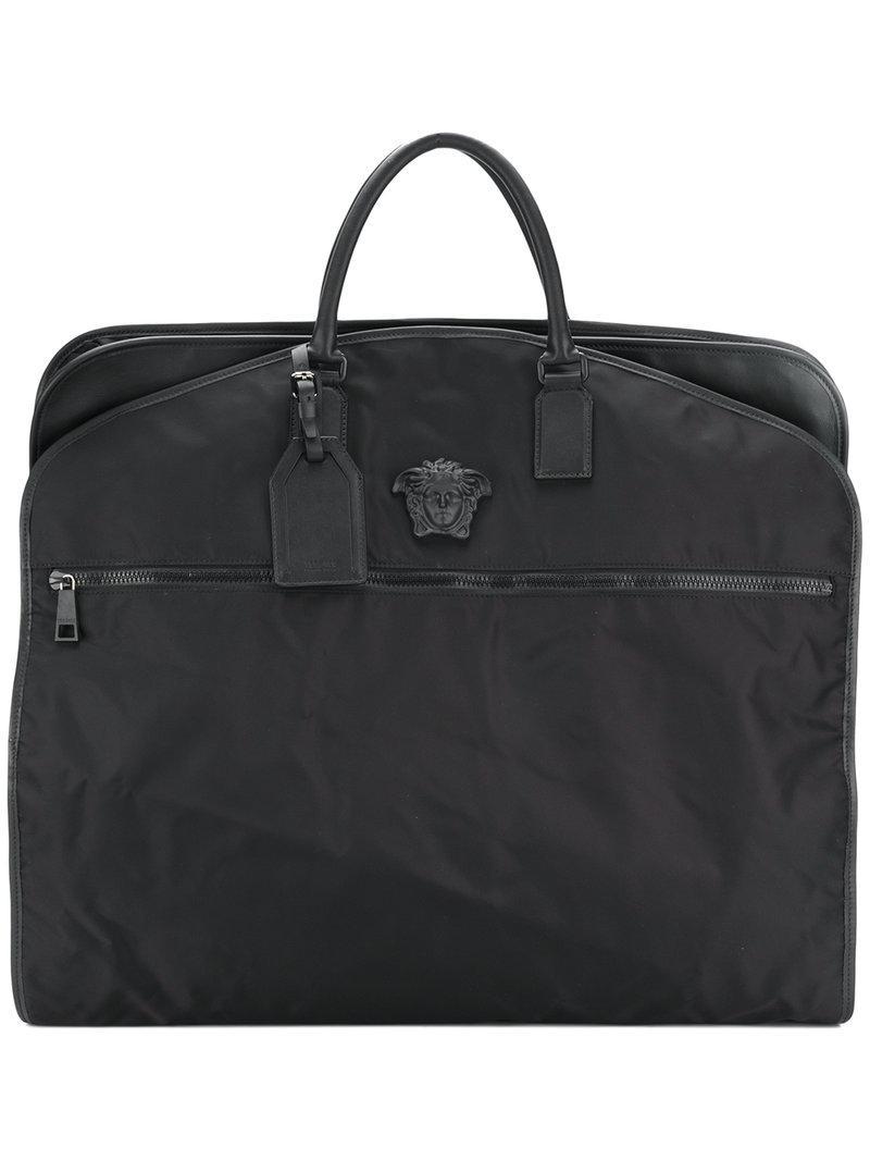 551eba18fcf5 Lyst - Versace Borsa Porta Abiti  medusa Palazzo  in Black for Men
