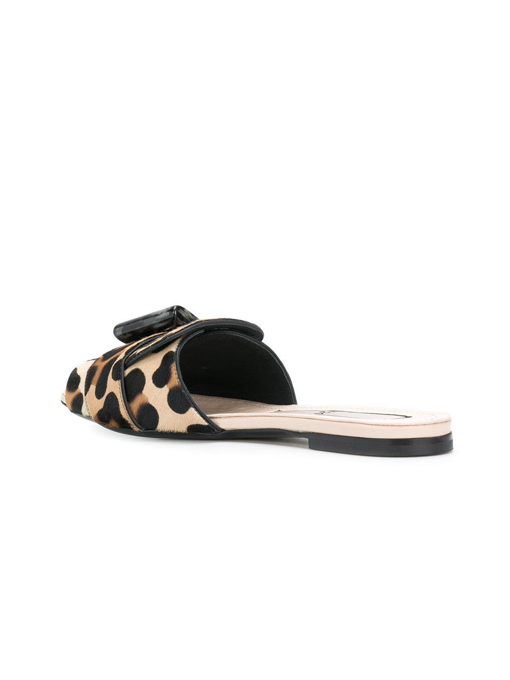 Discount The Cheapest No21 Leopard Print Sliders Free Shipping Footlocker Pictures Discount Best Seller Outlet Classic Cheap Visit New tXXzwIWxtq