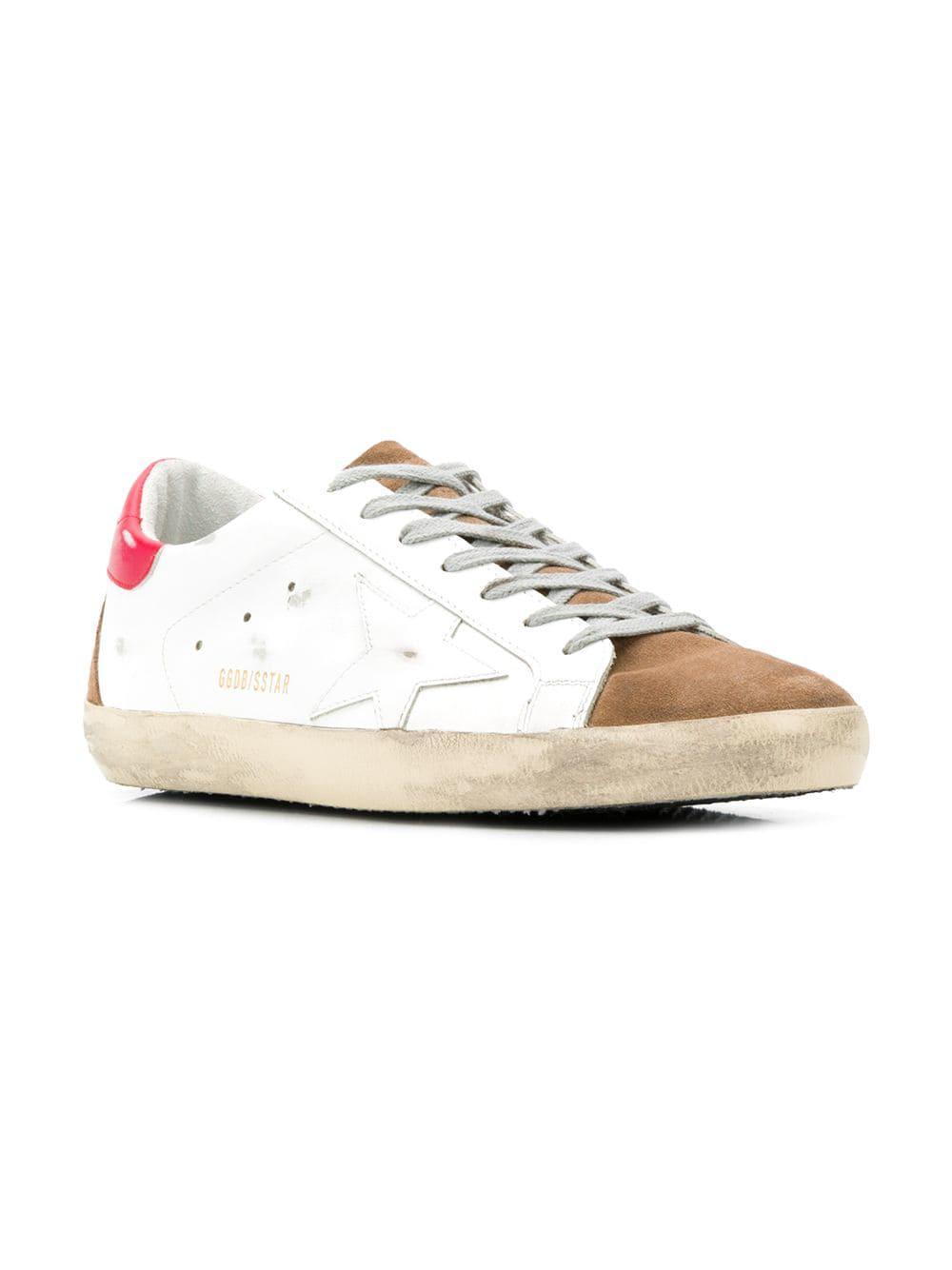 dd7b05f9f1294 Golden Goose Deluxe Brand - White Superstar Sneakers for Men - Lyst. View  fullscreen