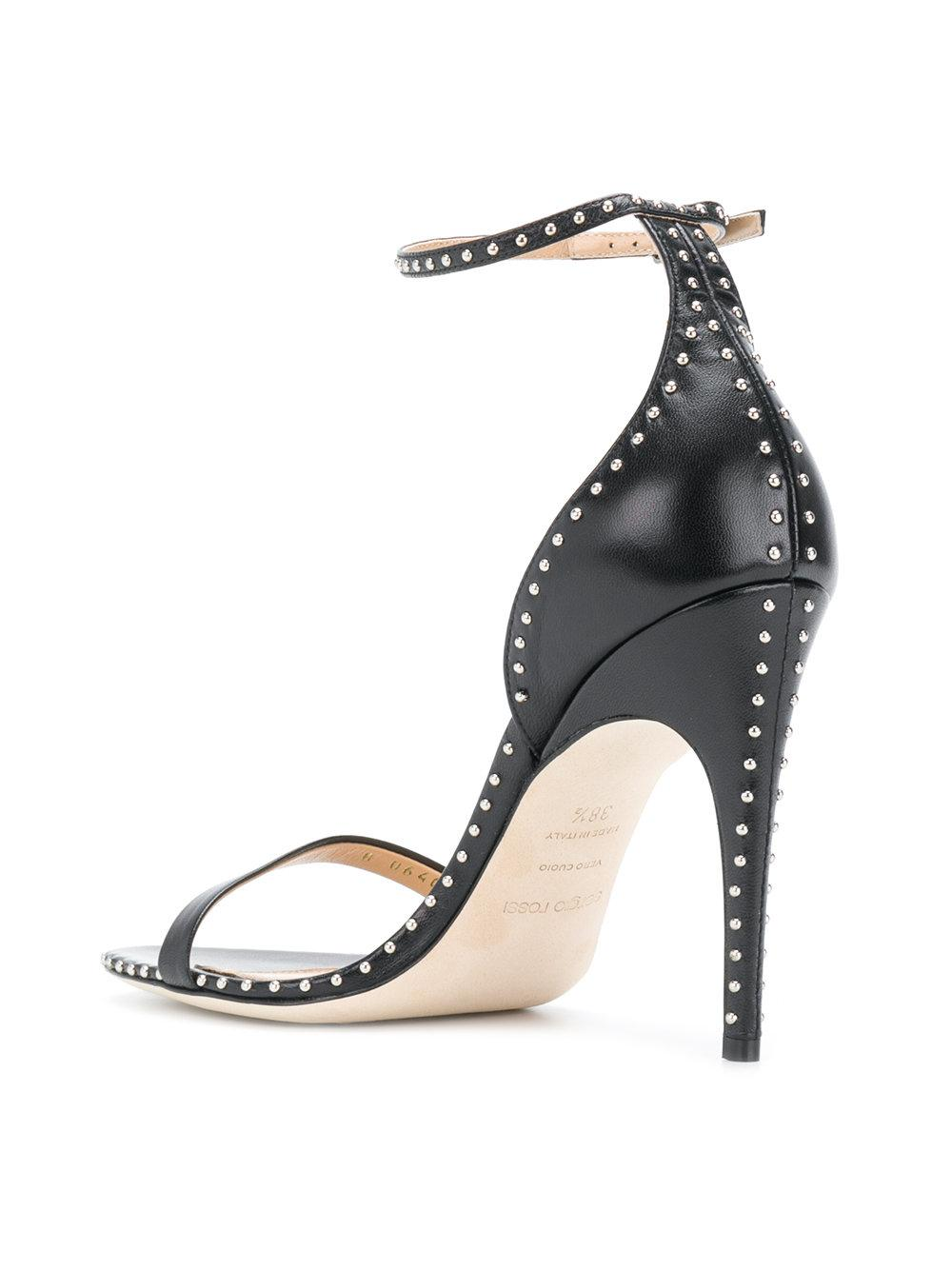 Sergio Rossi studded slingback sandals lowest price discount huge surprise sale factory outlet discount 2014 Js0Lc1sX