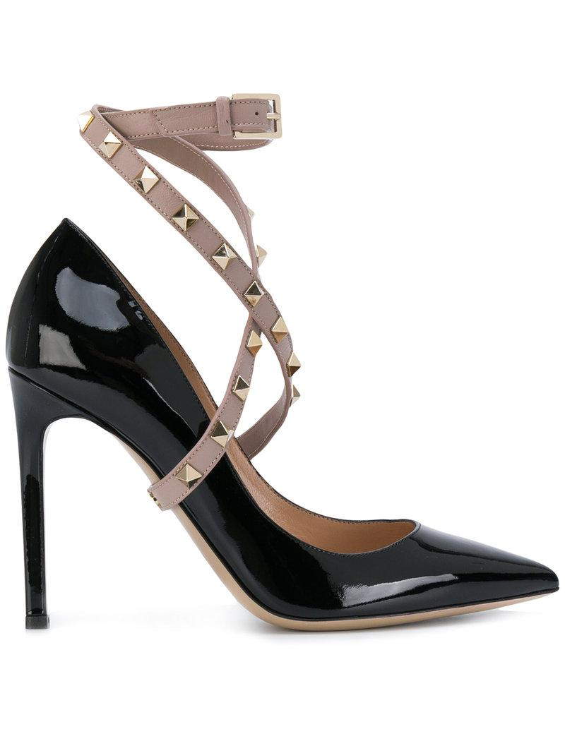Valentino Garavani Studwrap pumps - Black Valentino Outlet Looking For Pre Order Sale Online All Size Best Authentic Pick A Best t0twgLRW