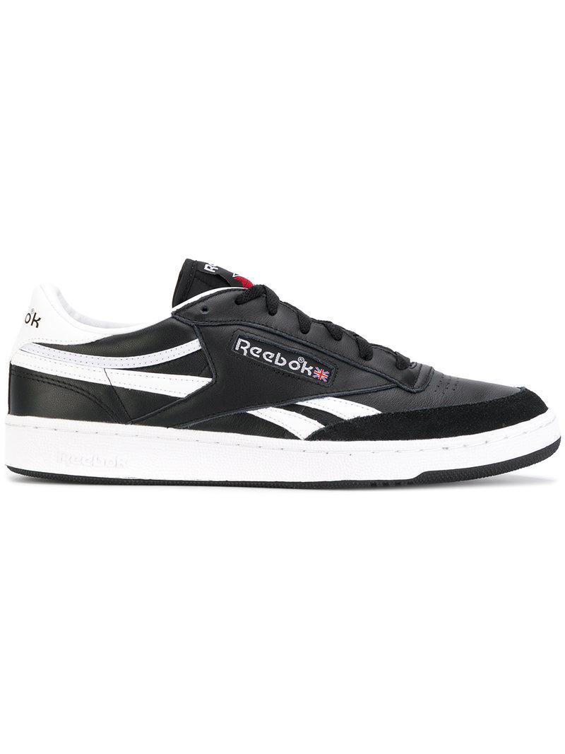 Reebok contrast lace up sneakers