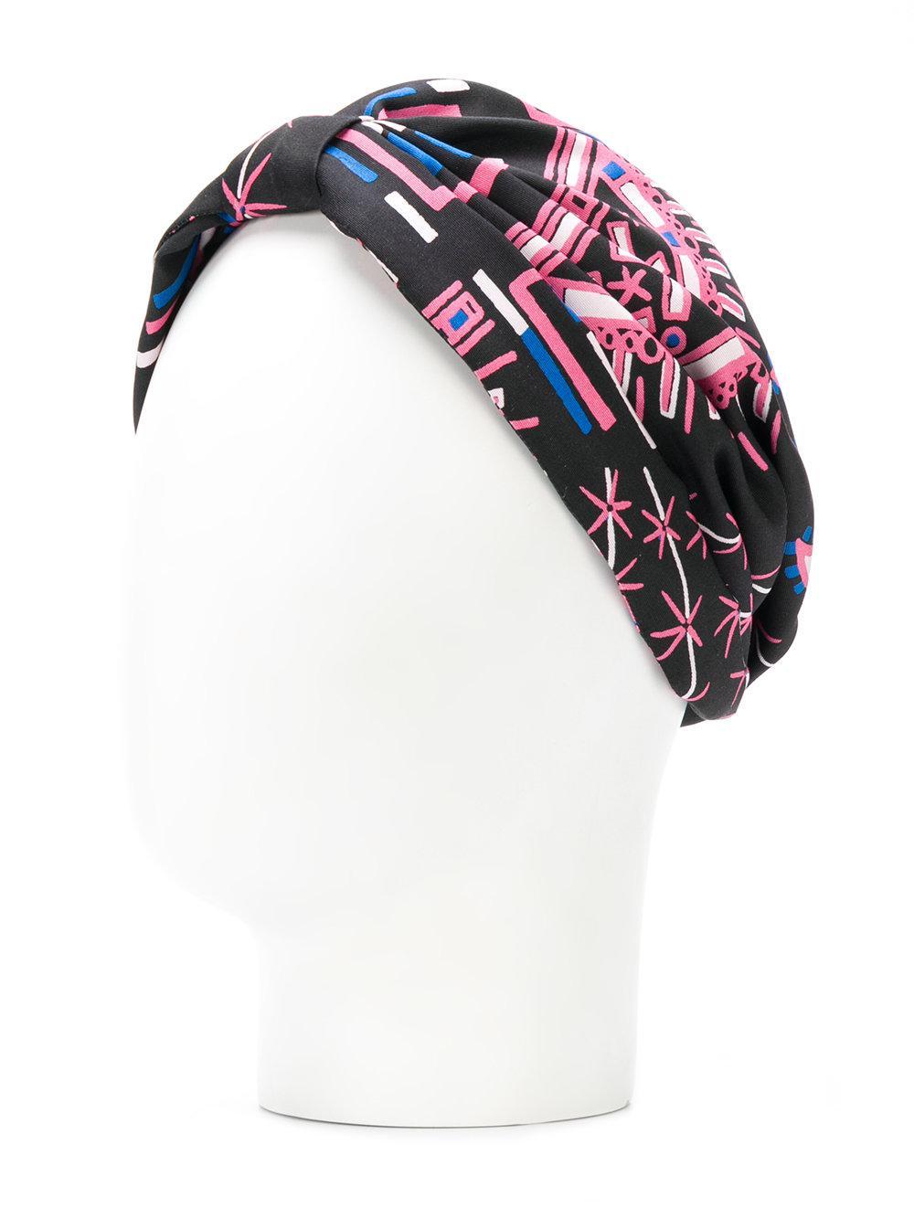printed turban - Black Valentino 0b2qshd