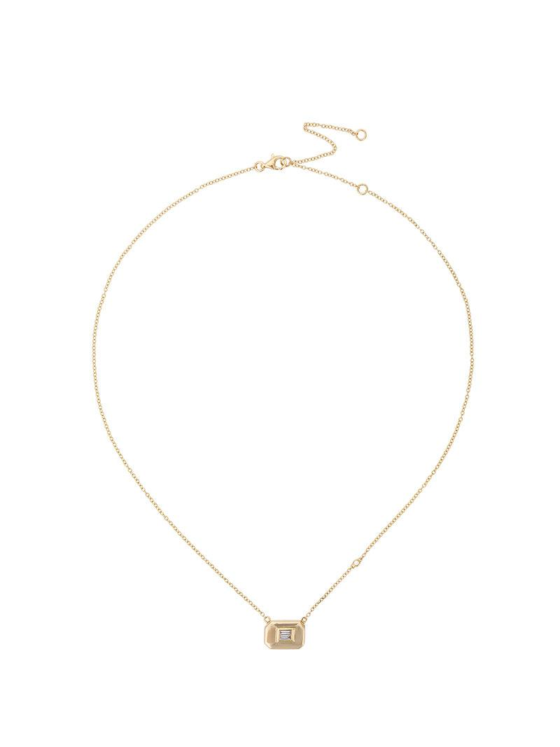 Shay Essential Baguette necklace - Metallic wFKjhU