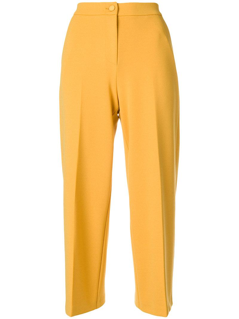 Blugirl cropped tailored trousers With Credit Card For Sale ww97xxH