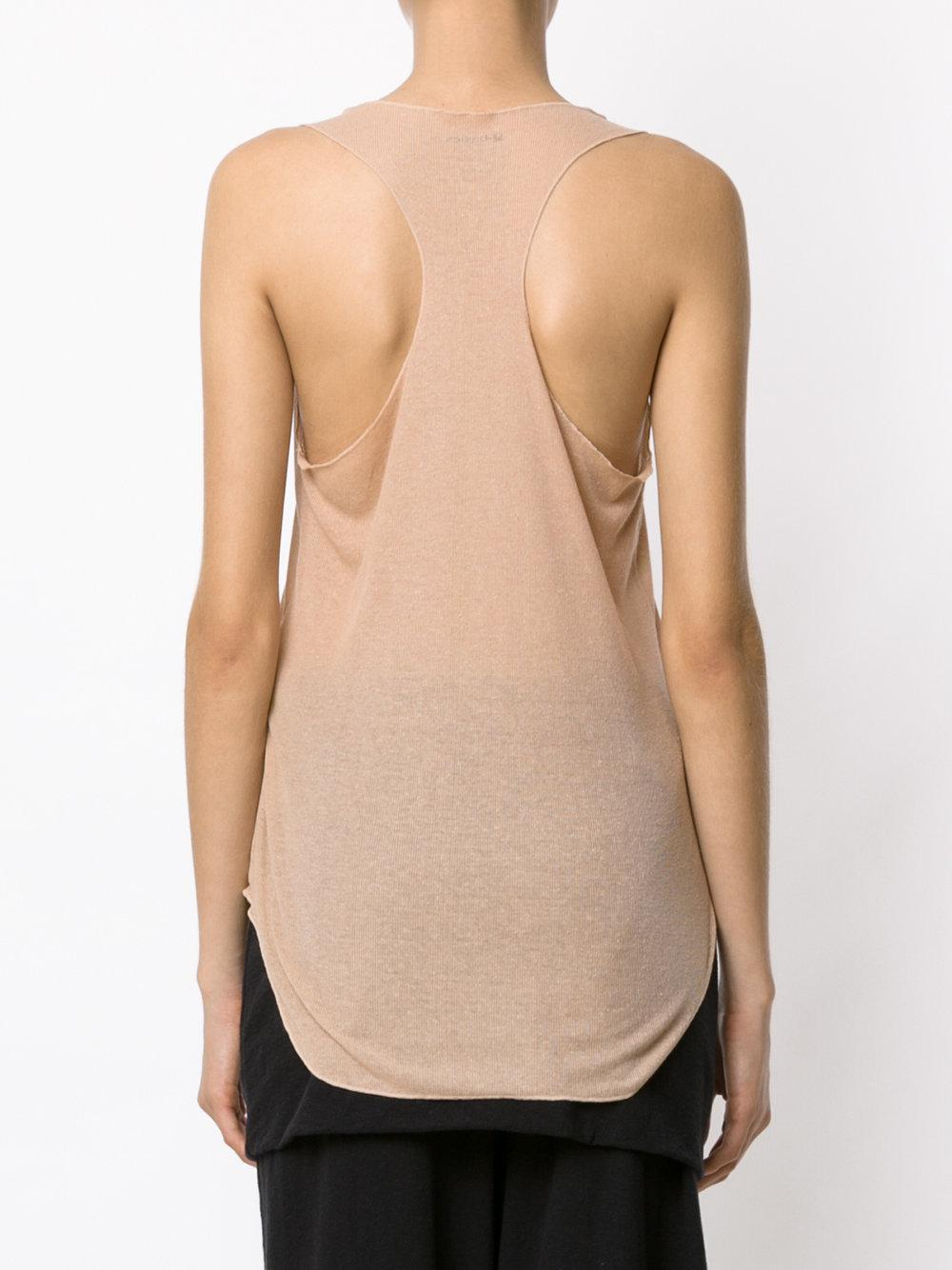 Popular For Sale Thin Rib dress - Nude & Neutrals Osklen Cheap Clearance Free Shipping 100% Authentic Sale Fake K1De4g