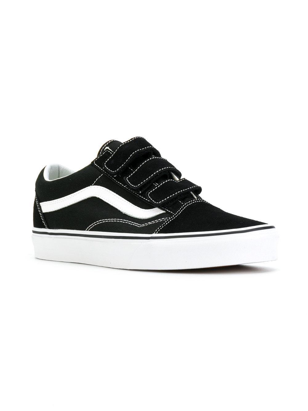Lyst - Vans Old Skool Touch-strap Sneakers in Black for Men 30018e104