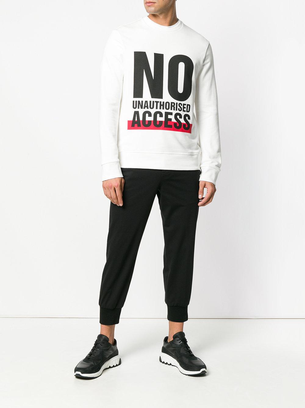 cef88c133081ab neil-barrett-White-No-Unauthorised-Access-Sweatshirt.jpeg