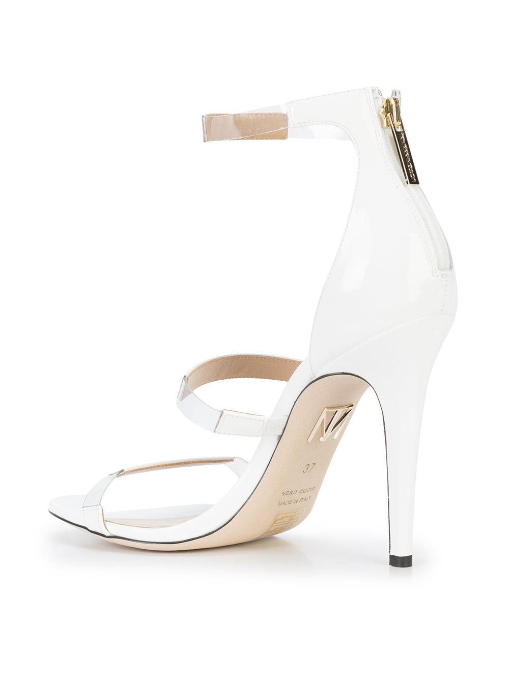 Tamara Mellon Strappy stiletto round toe sandals TogwmR
