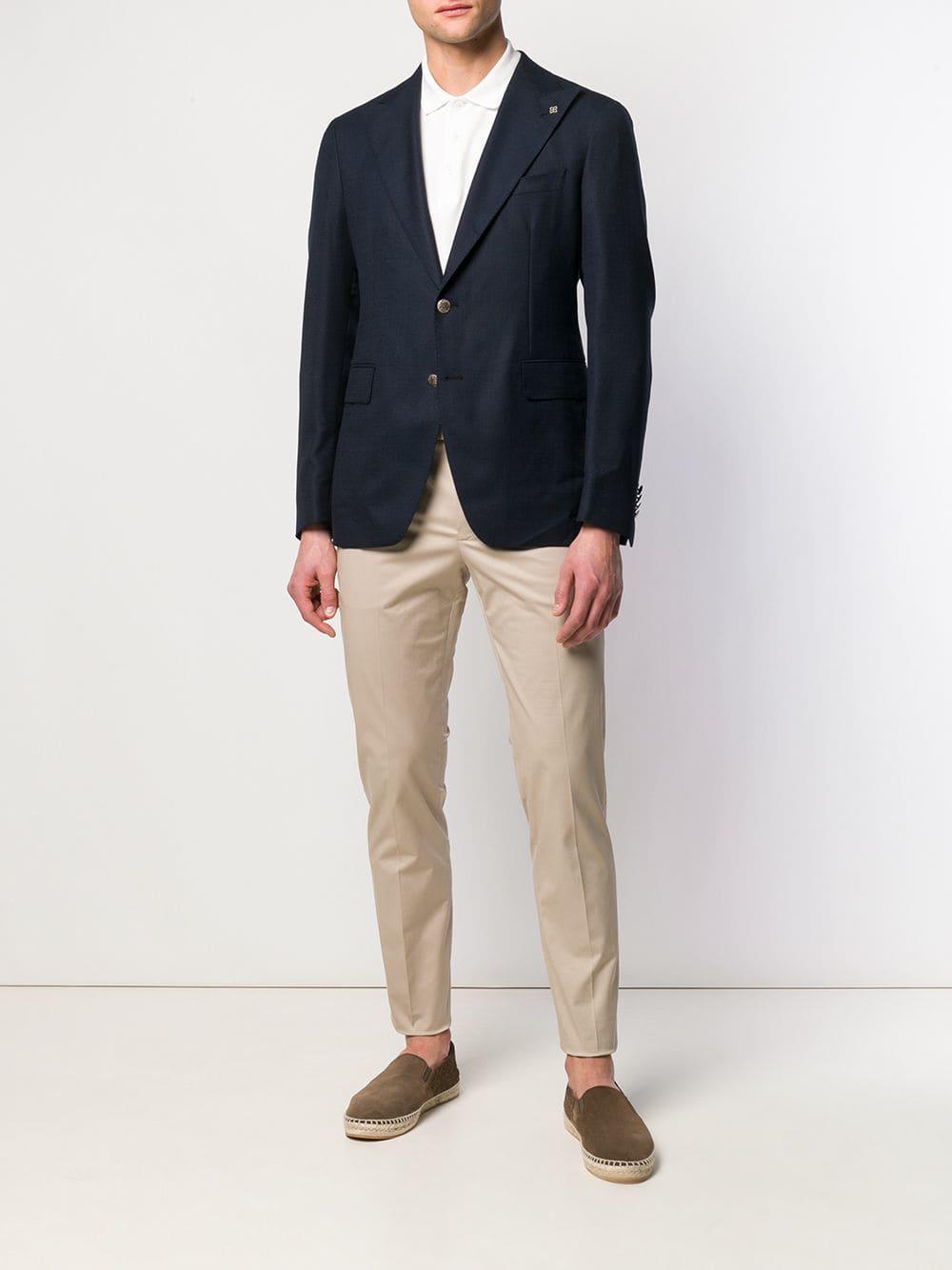 1f83c9856550 Lyst - Tagliatore Suit Jacket in Blue for Men