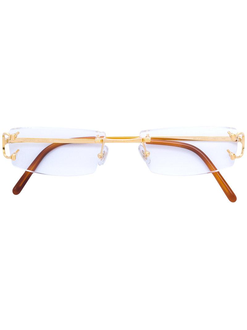 59cf8fad05c Cartier C Décor Glasses for Men - Lyst