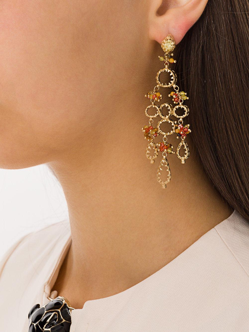 Belinda earrings - Metallic Gas Bijoux HfRtsRtIfz