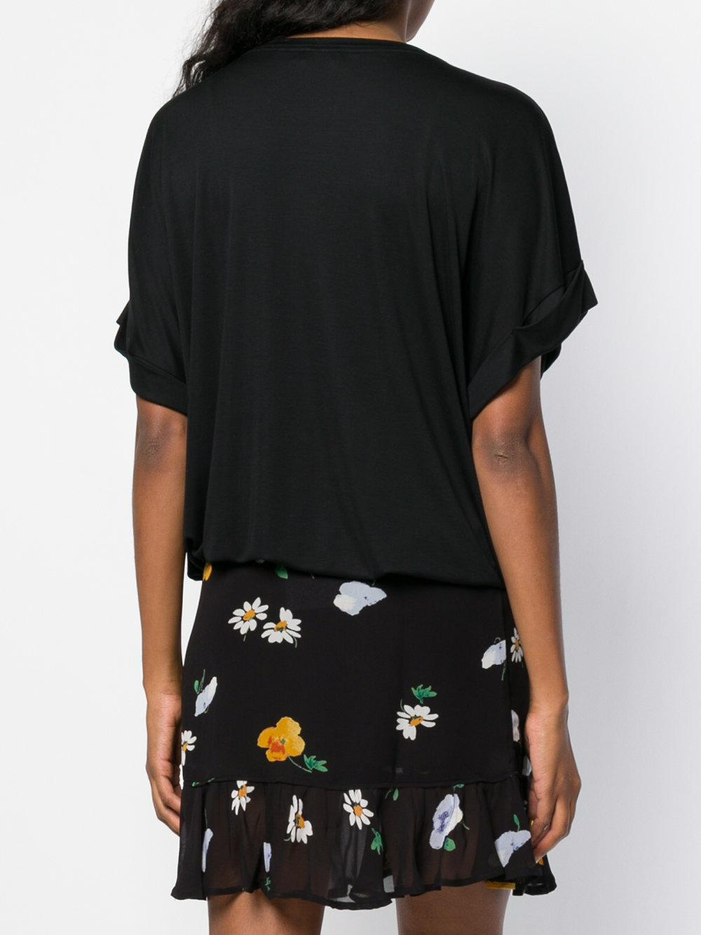 waist-tied shift T-shirt - Black Closed Buy Cheap Best Wholesale Largest Supplier Shopping Online Cheap Online DwbVM