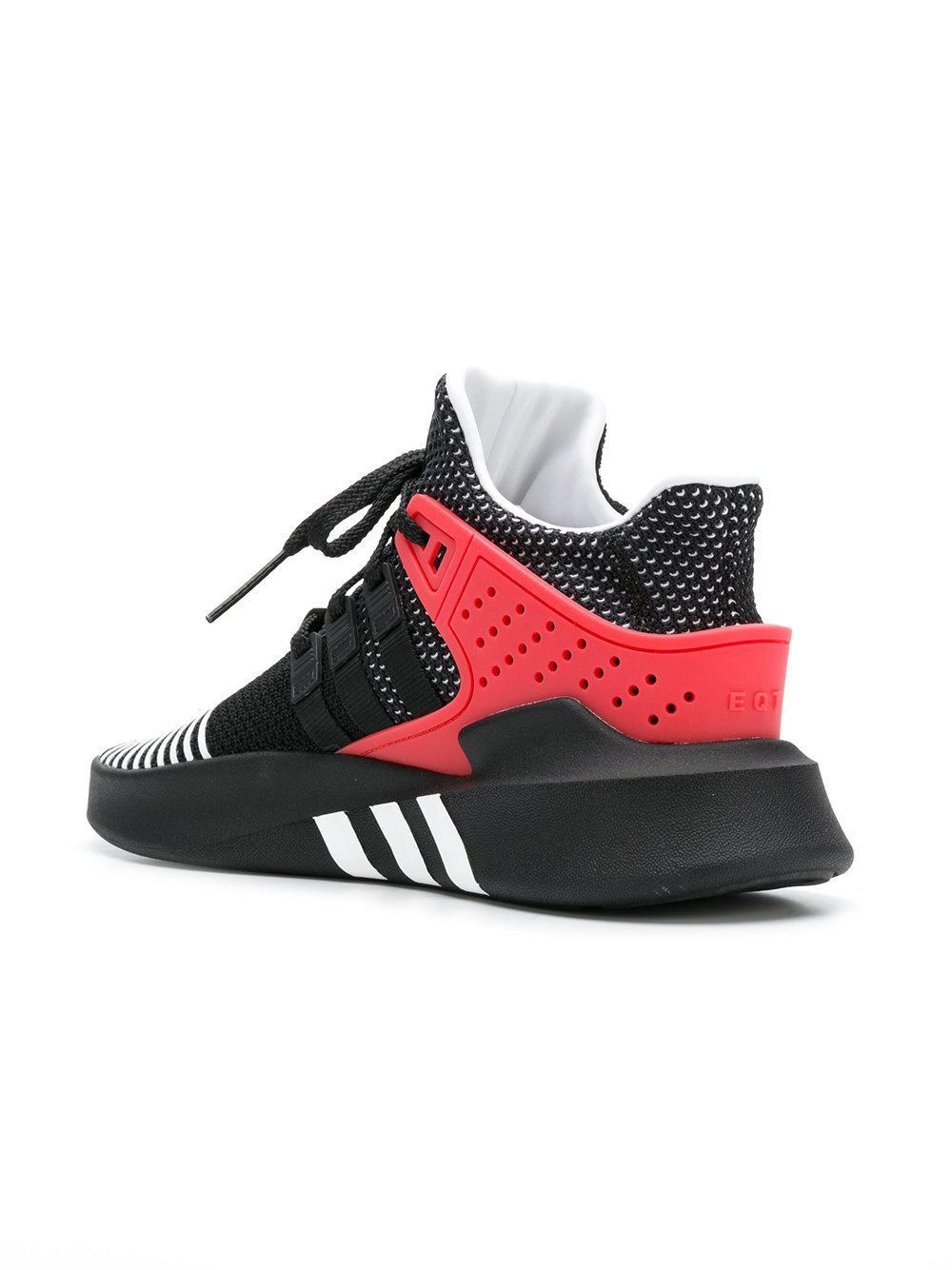 b5acfa18db6 Adidas - Black Eqt Bask Adv Sneakers for Men - Lyst. View fullscreen