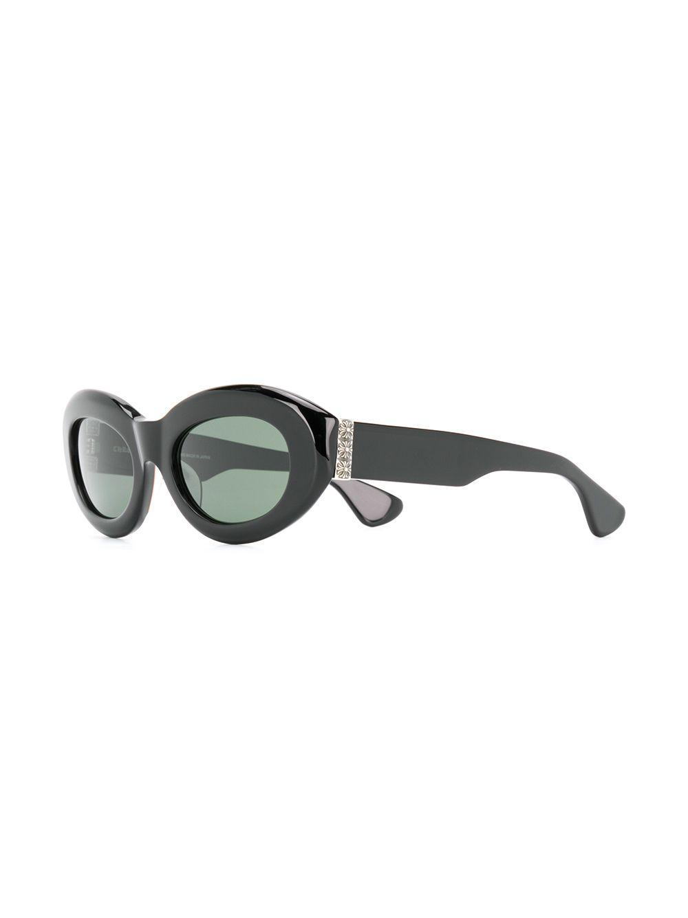 551db9b3fc6 Chrome Hearts - Black Cat Eye Sunglasses - Lyst. View fullscreen