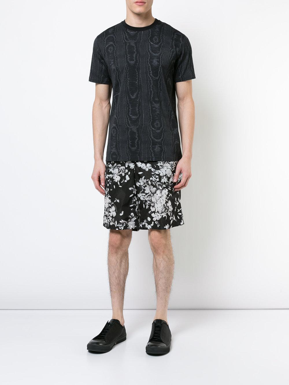 59ef1b3730850 Lyst - Bermuda à fleurs Givenchy pour homme en coloris Noir