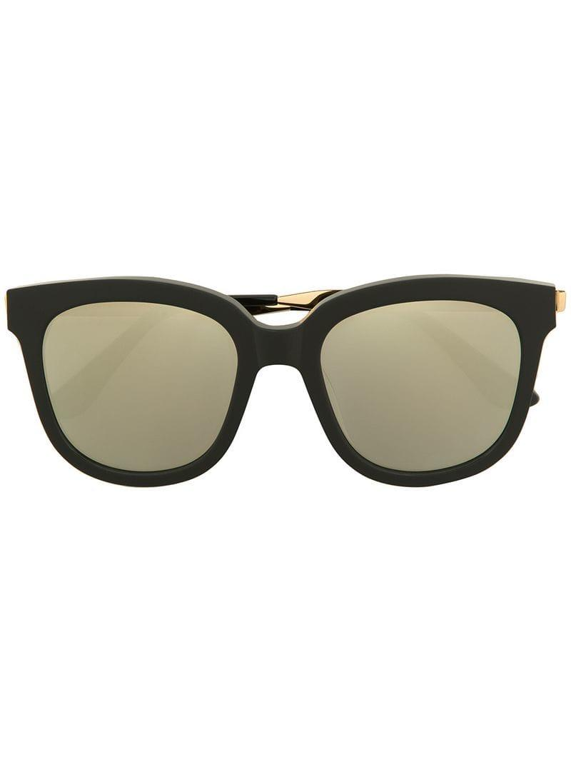 f30bf092d28 Lyst - Gentle Monster Absente 01(2m)gd Sunglasses in Black
