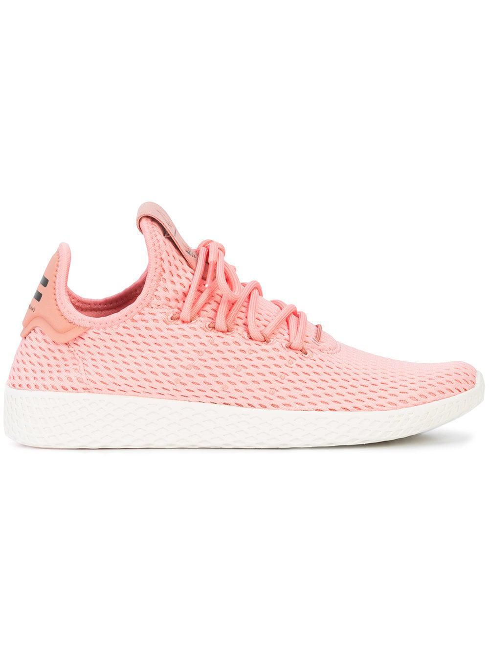 928229787 adidas Originals Pharrell Williams Tennis Hu Sneakers in Pink for ...