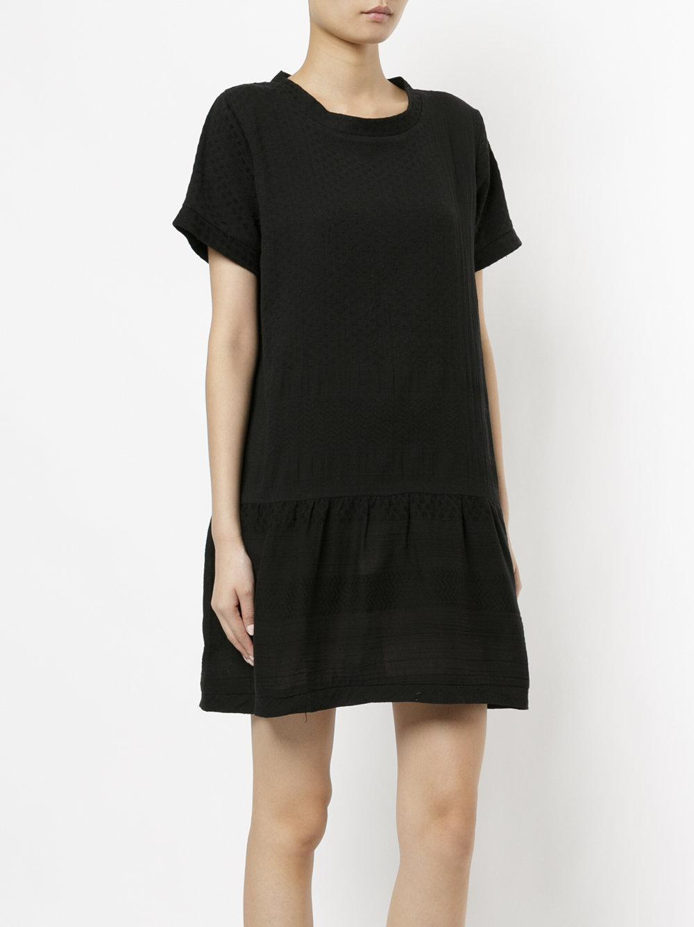 flared T-shirt dress - Black Cecilie Copenhagen Cheap Price Pre Order Cheap Looking For Find Great For Sale Discount With Mastercard viyEmL