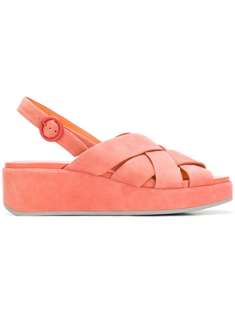142cfdfbf59 Lyst - Camper Misia Sandals in Pink