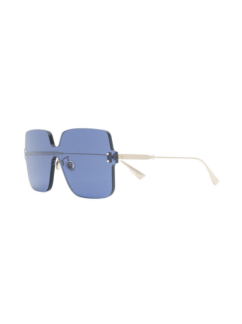 945a9c9ac5 Dior Colorquake1 Sunglasses in Blue - Lyst