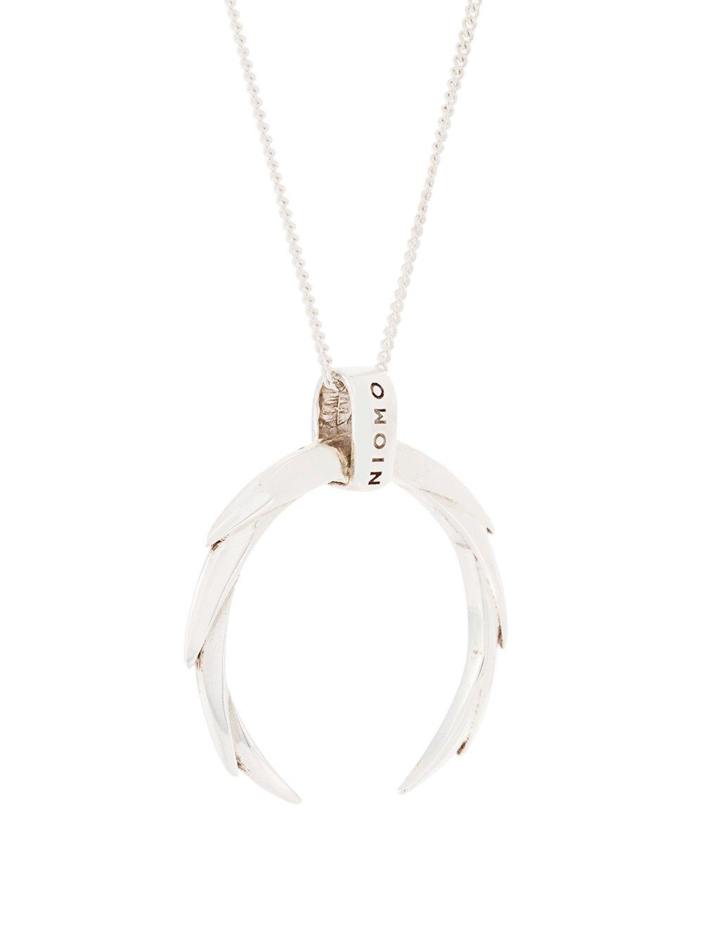 Niomo Butia necklace - Metallic vggb7u