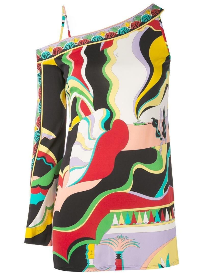 83d3b1cfaff Emilio Pucci. Women's La Villa Print Blouse