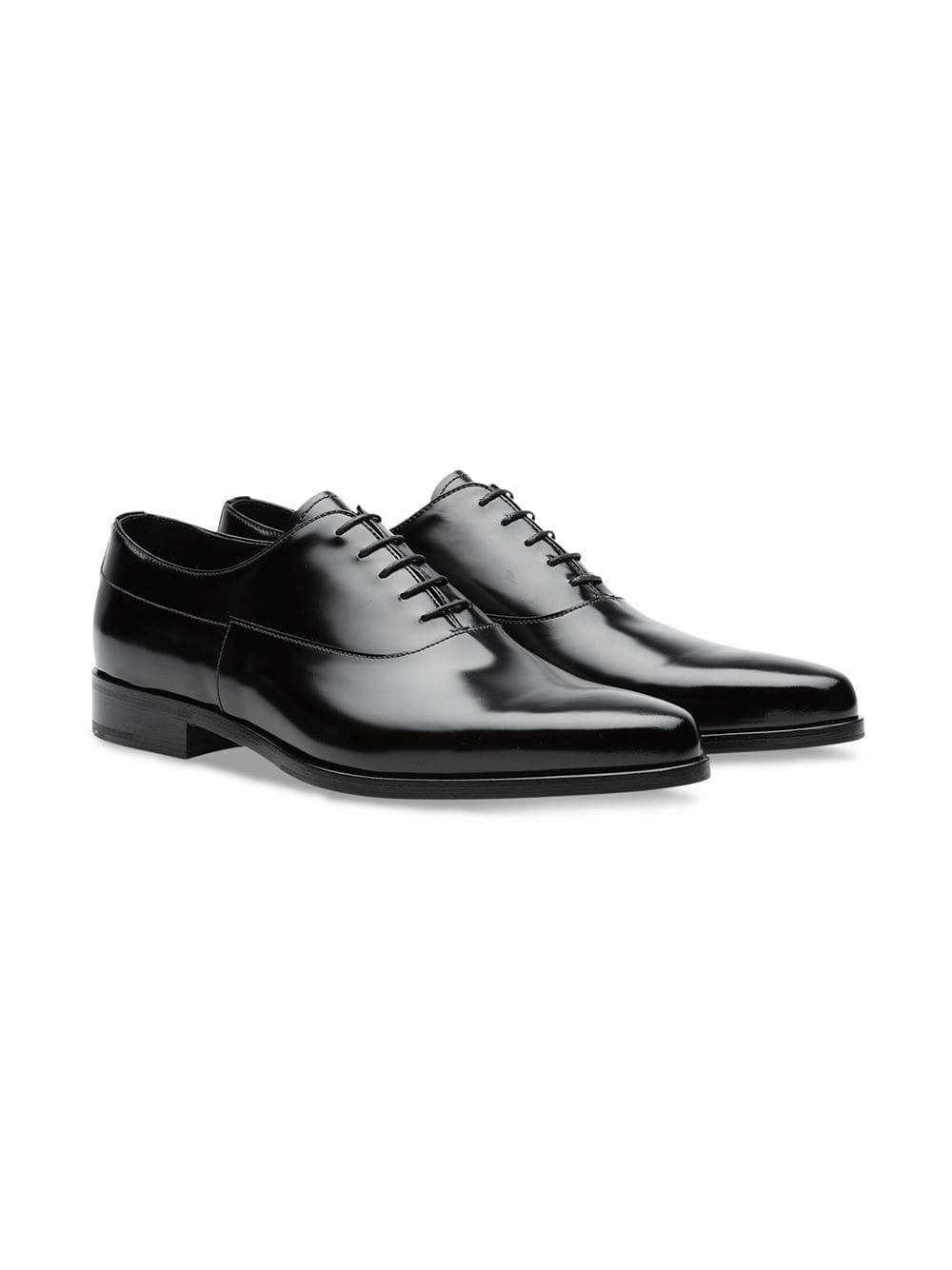 8acd6023221a Prada Classic Oxford Shoes in Black for Men - Lyst
